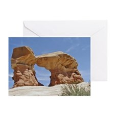 Kissing Stones Greeting Cards (Pk of 10)