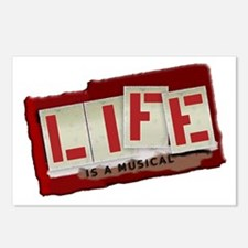 Life is a Musical Postcards (Package of 8)