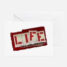 Life is a Musical Greeting Cards (Pk of 10)