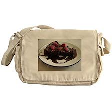 Chocolate Cake Messenger Bag