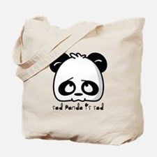 Sad Panda is sad Tote Bag