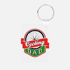 Cycling Dad Keychains