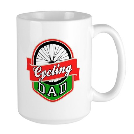 Cycling Dad Large Mug