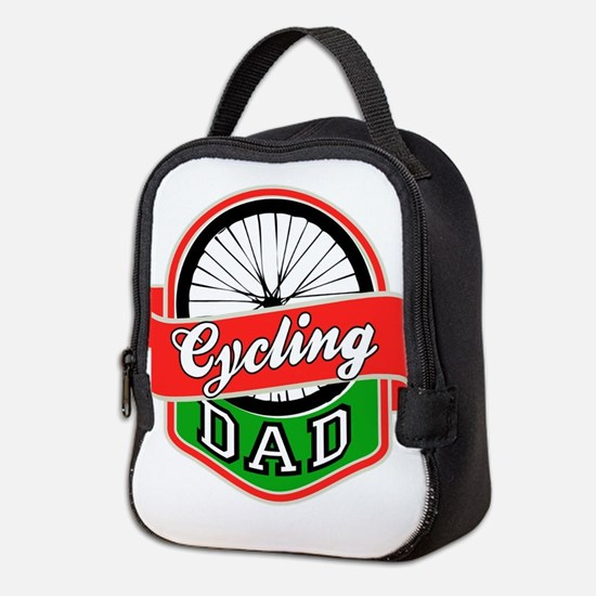 Cycling Dad Neoprene Lunch Bag