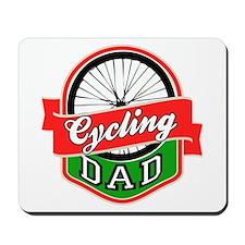 Cycling Dad Mousepad