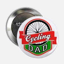 "Cycling Dad 2.25"" Button"