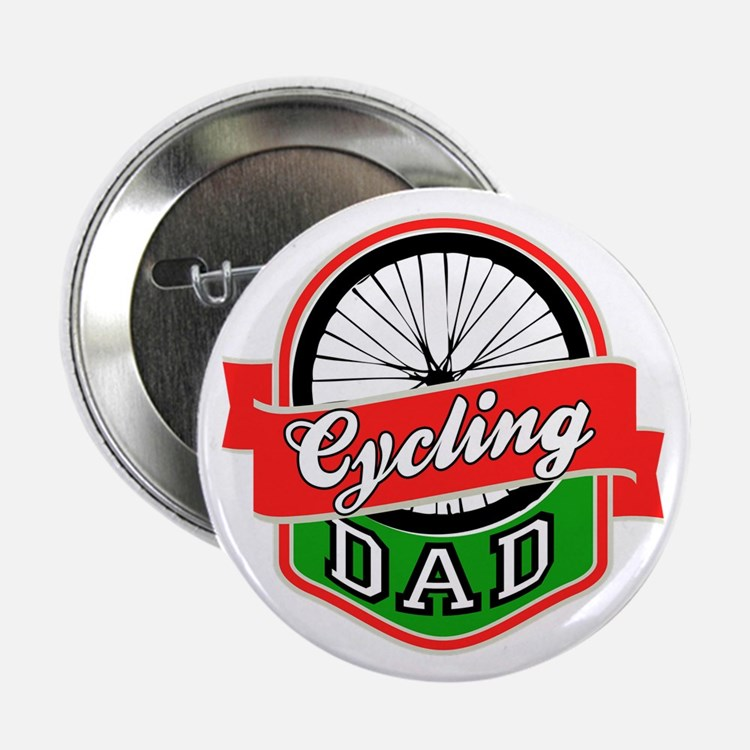 """Cycling Dad 2.25"""" Button"""