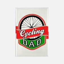 Cycling Dad Rectangle Magnet