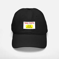 Tongue Twister Baseball Hat