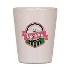 Cycling Mom Shot Glass
