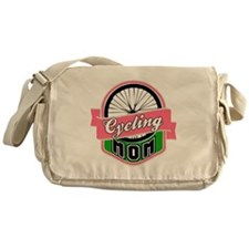 Cycling Mom Messenger Bag