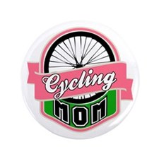 """Cycling Mom 3.5"""" Button"""