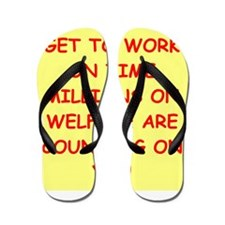 WELFARE Flip Flops