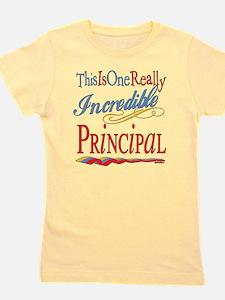 Incredible PRINCIPAL.png Girl's Tee