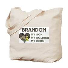Brandon: My Hero Tote Bag