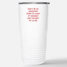 laugh Travel Mug