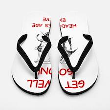 GET WELL Flip Flops