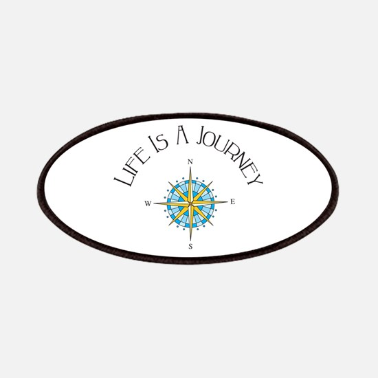 Life Is A Journey Patches