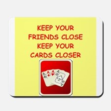 card player Mousepad