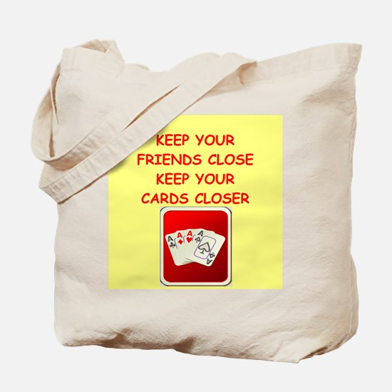 card player Tote Bag