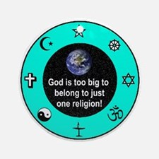 Big God Religion III Ornament (Round)