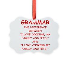 grammar Ornament