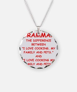 grammar Necklace
