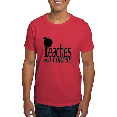 Men's Dark Shirt Large Black Logo