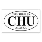 Chuathbaluk Rectangle Sticker