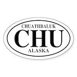 Chuathbaluk Oval Sticker