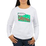 Retro Christmas Women's Long Sleeve T-Shirt