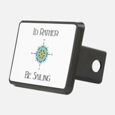 Id Rather Be Sailing Hitch Cover