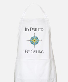 Id Rather Be Sailing Apron