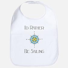 Id Rather Be Sailing Bib