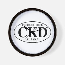 Crooked Creek Wall Clock