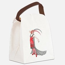 Scarlet Flapper Canvas Lunch Bag