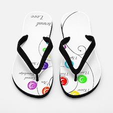 Eternal Love Pregnancy Flip Flops