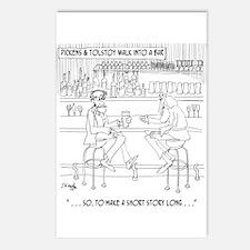 Literature Cartoon 9267 Postcards (Package of 8)