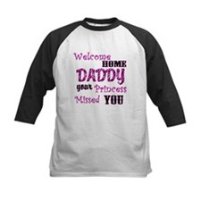 Welcome Home Daddy Baseball Jersey