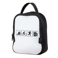 Swim Bike Run Drink Neoprene Lunch Bag