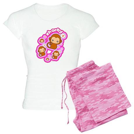 Shorty Monkey Pajamas