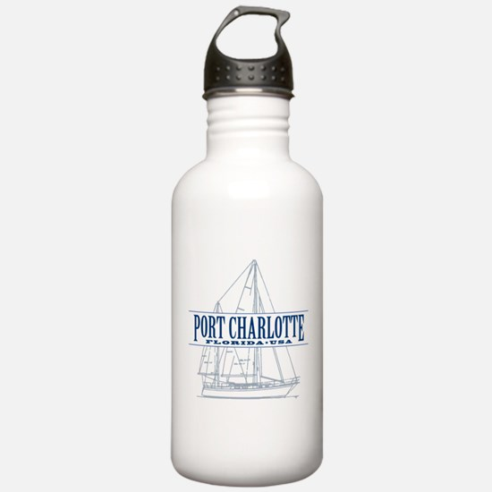 Port Charlotte - Water Bottle