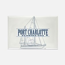 Port Charlotte - Rectangle Magnet