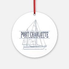Port Charlotte - Ornament (Round)