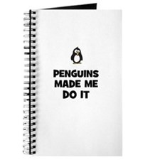 penguins made me do it Journal