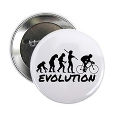 "Bicycle Evolution 2.25"" Button"