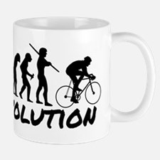 Bicycle Evolution Mug