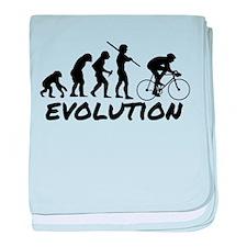 Bicycle Evolution baby blanket