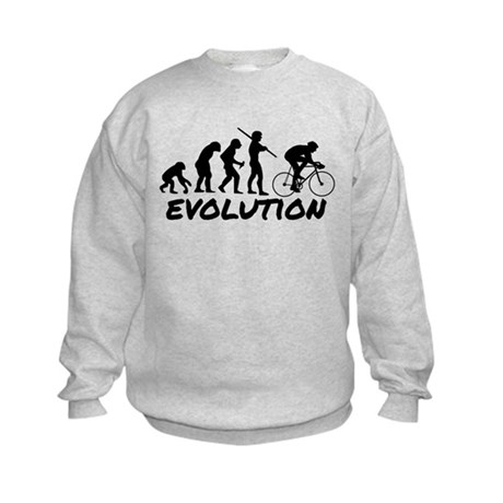 Bicycle Evolution Kids Sweatshirt