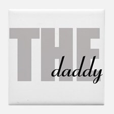 THE daddy Tile Coaster